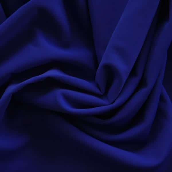Matte Navy Blue Swimwear Fabric