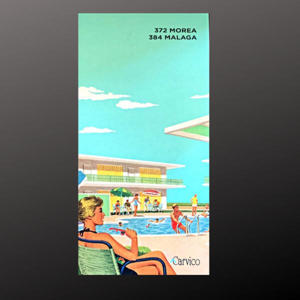 Carvico Swimwear Fabric Swatches - Malaga (Matte)