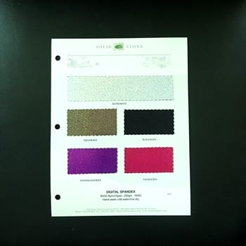 Digital Hologram – Color Card