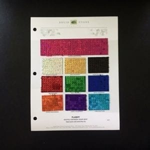 Sequin Fabric Swatches