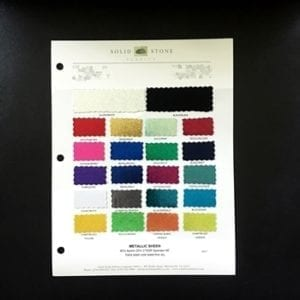 Mystique Spandex Fabric Swatches