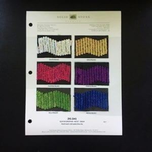 Sequin Mesh Fabric Swatches