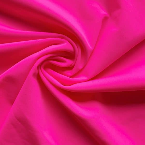 Hot Pink Recycled Swim Fabric