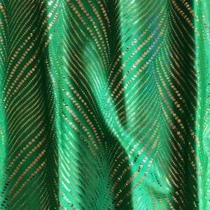 Green Holographic Foil Dot Fabric - Solid Stone Fabrics, Inc.