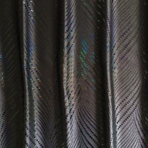 Pewter Holographic Foil Fabric - SOLID STONE FABRICS, INC.