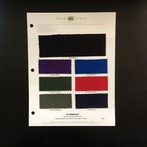 Glitter Foil Fabric Swatches / Color Card - SOLID STONE FABRICS, INC.