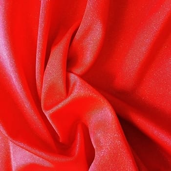Red Glitter Foil Fabric - SOLID STONE FABRICS, INC.