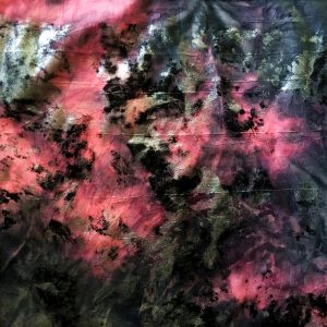 Vintage Pink Distressed Foil fabric features multiple distressed foils in shades of grey, black, silver and pink with a subtle crinkly texture, for lots of textural interest. - Buy Fabric Online By The Yard - Solid Stone Fabrics, Inc.