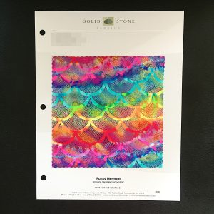 Mermaid Tail Fabric Swatches - Fish Scale Fabric Swatches - Solid Stone Fabrics, Inc.