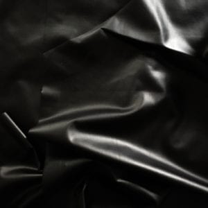 SLICK BLACK MATTE FOIL STRETCH FABRIC SOLD BY THE YARD FABRIC ONLINE METALLIC FABRIC