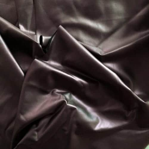 SLICK MAROON MATTE FOIL FABRIC BY THE YARD STRETCH FABRIC