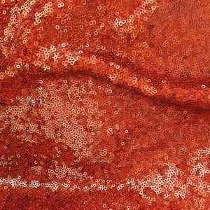Copper Hologram Sequin Fabric