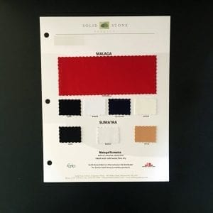 Carvico Matte and Shiny Color Card Swatches - All Stock Colors