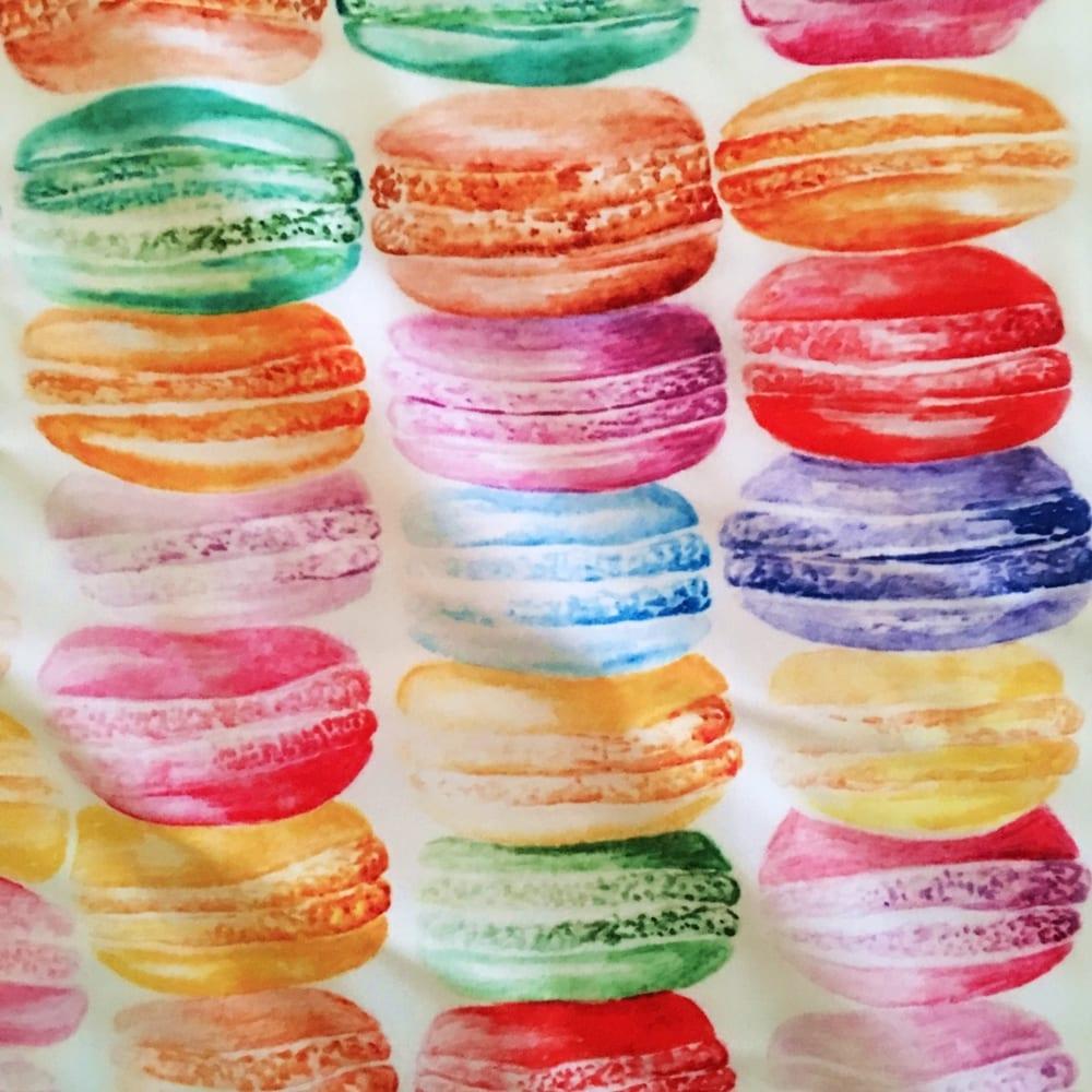 Rainbow Macaron Print – Multi