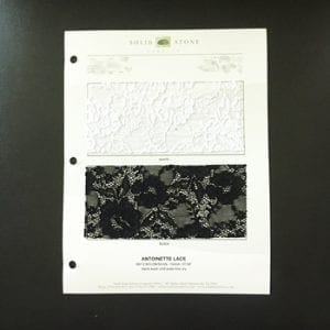 Lace Fabric Samples