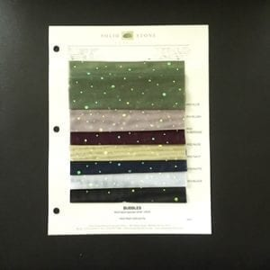 Sequin Dot Mesh Swatches