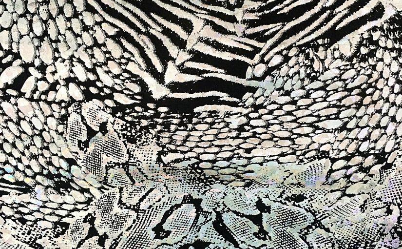 Wildlife Hologram – Silver/Black