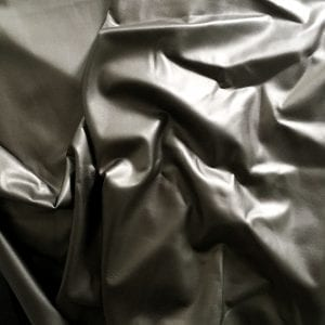 Grey Matte Foil Fabric - SLICK MATTE FOIL - SOLID STONE FABRICS, INC.