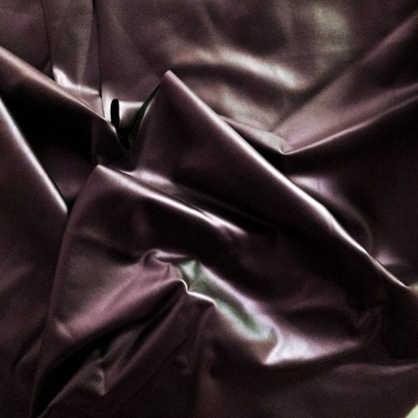 Maroon Matte Lame Stretch Fabric - SOLID STONE FABRICS, INC.