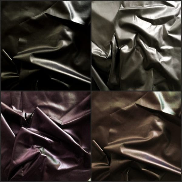 Slick Matte Foil Fabric Swatches - Solid Stone Fabrics, inc.