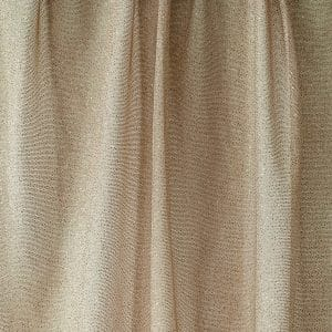 Nude Gold Glitter Mesh fabric features all over gold glitter on 2-way stretch nude polyester mesh making it ideal for both semi-fitted and draped garments.