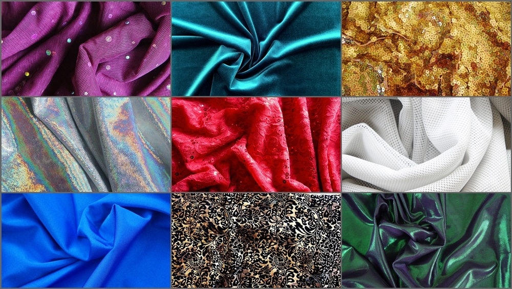 OUR SERVICES - STOCK FABRICS COLLAGE - SOLID STONE FABRICS, INC.