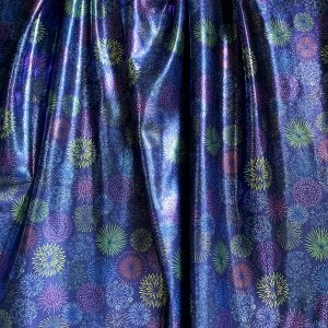 FIREWORKS PRINT FABRIC BY THE YARD - SOLID STONE FABRICS, INC. - STOCK FABRICS AND CUSTOM FABRIC PRINTING SINCE 2003