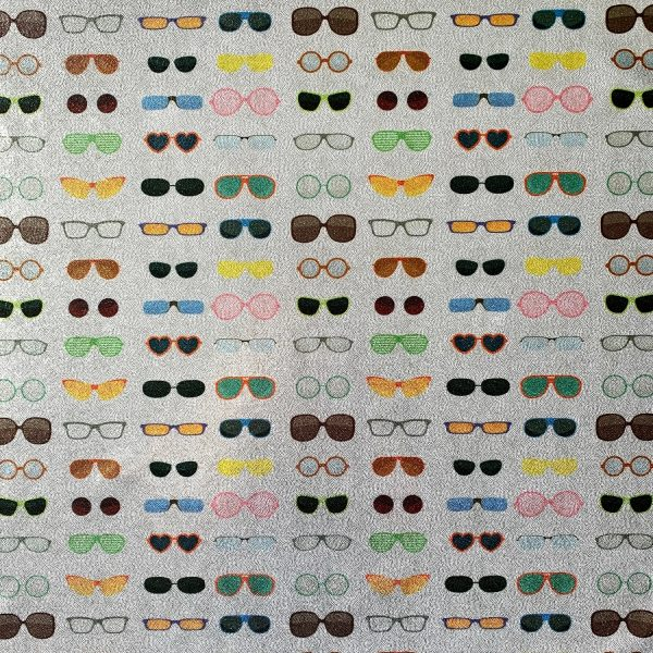 SUNGLASSES PRINT FABRIC BY THE YARD - SOLID STONE FABRICS, INC. - STOCK FABRICS AND CUSTOM FABRIC PRINTING SINCE 2003