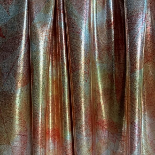 Fall Leaves Print Fabric