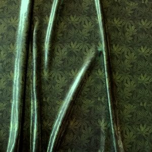 Marijuana Leaf Print Fabric