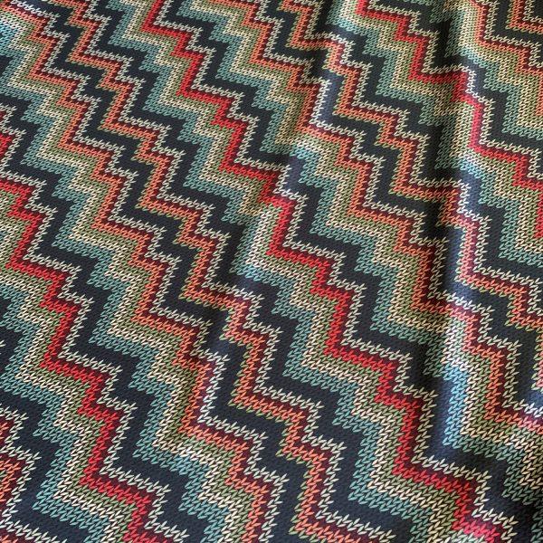 Sweater Knit Print Fabric