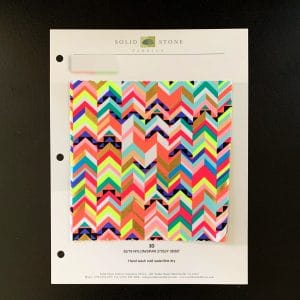 Chevron Print Fabric Swatches