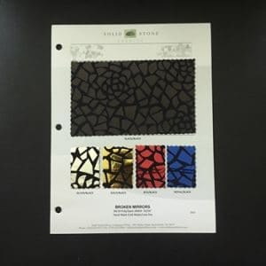 MIRROR MOSAIC FABRIC SWATCHES