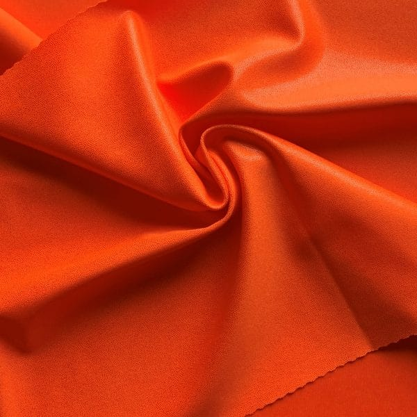 Neon Orange Stretch Fabric