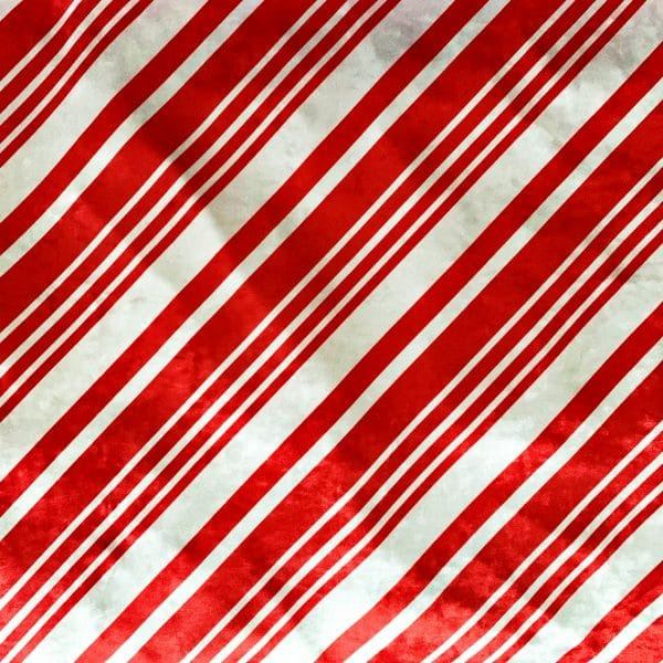 Candy Cane Stripe Crushed Velvet Fabric