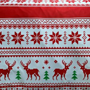 Christmas Sweater Print Fabric