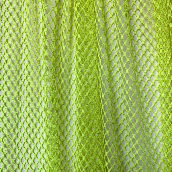 Neon Yellow Sparkle Mesh