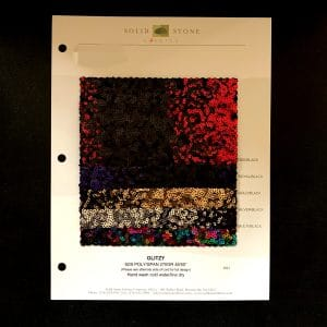 Ombre Sequin Fabric Swatches