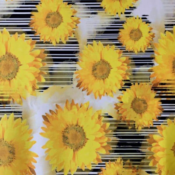 Sunflower Print Fabric