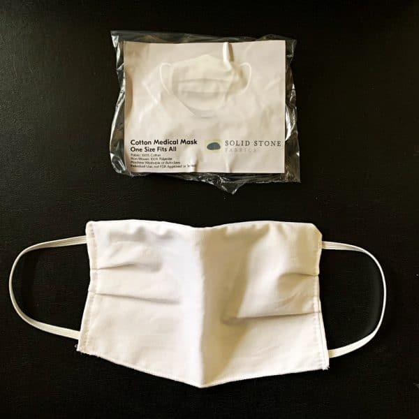 COTTON BARRIER FACE MASK