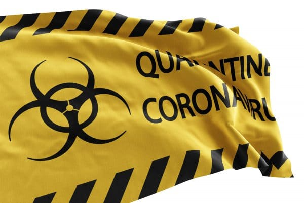 Caution flag features yellow and black graphics for a clear message.  Perfect for healthcare, business or personal use.  Made in the USA with pride and care.