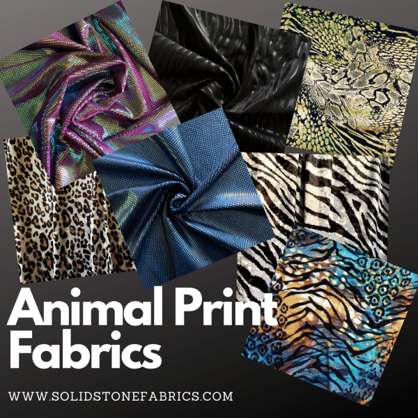 Wholesale Animal Print Fabric