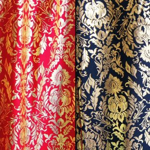 Baroque Style Gold Foil Stretch Fabric - Baroque Fabric - Buy Fabric Online - USA Fabric Store