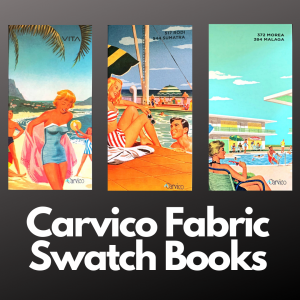Carvico Fabric Swatch Books