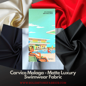 Carvico Malaga - Matt Swimwear Fabric - Wholesale Swimwear Fabric
