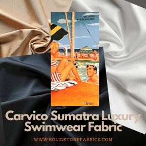 Carvico Sumatra - Shiny Swimwear Fabric