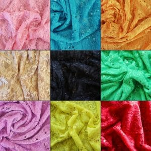 Wholesale Sequin Lace Fabric