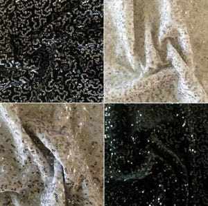 Sequin Velvet Fabric - Wholesale Fabrics By The Yard - USA Based Fabric Supplier Since 2003