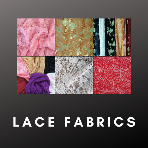 Wholesale Lace Fabrics - Solid Stone Fabrics - Wholesale Fabrics and Custom Fabric Printing Since 2003