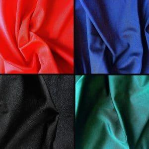 Starbright - Glitter Foil Stretch Fabric - Solid Stone Fabrics